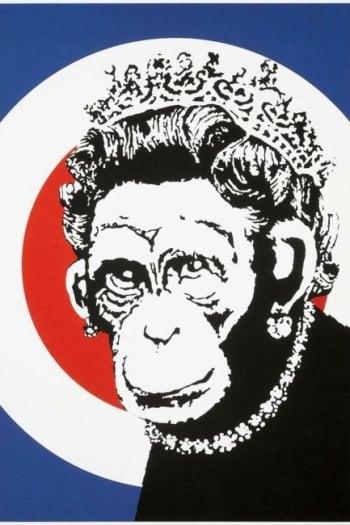 Bansky, Monkey Queen, @guyhepner.com