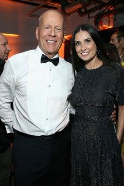 Bruce Willis e Demi Moore nel 2018