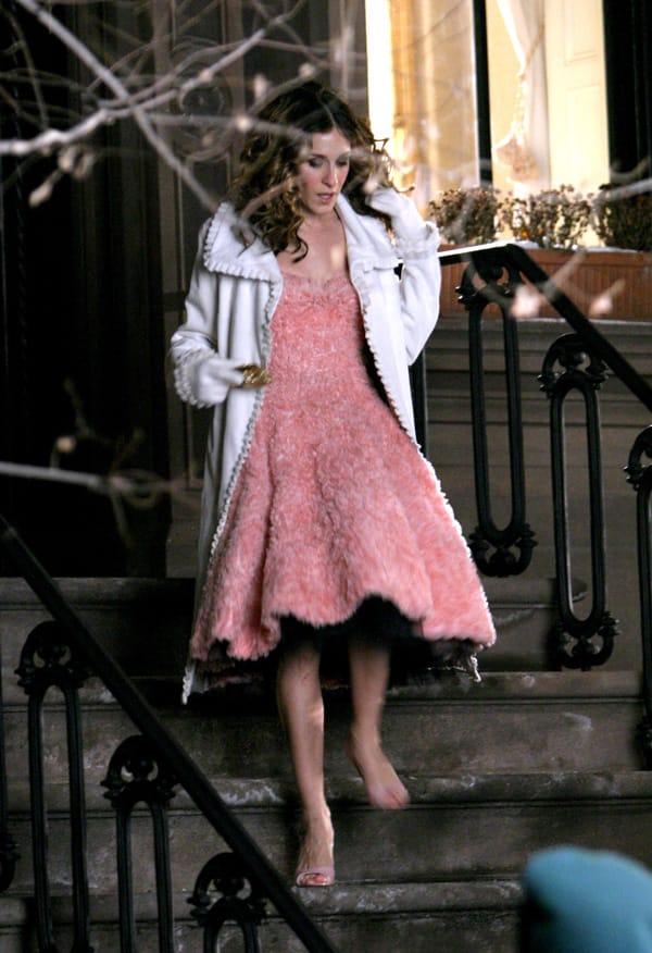 Sarah Jessica Parker in una scena della serie tv