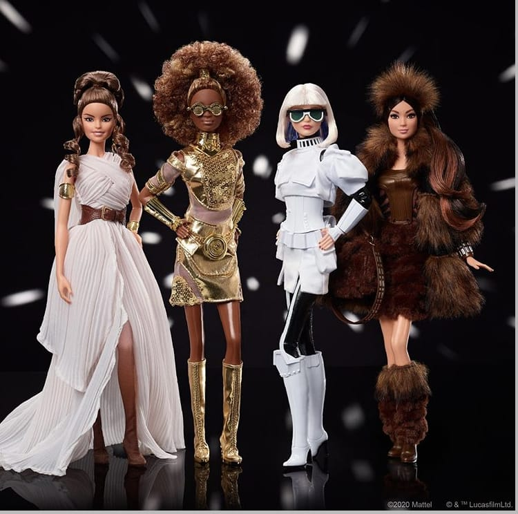 Nuova collezione ispirata a Star Wars di Barbie, Mattel
