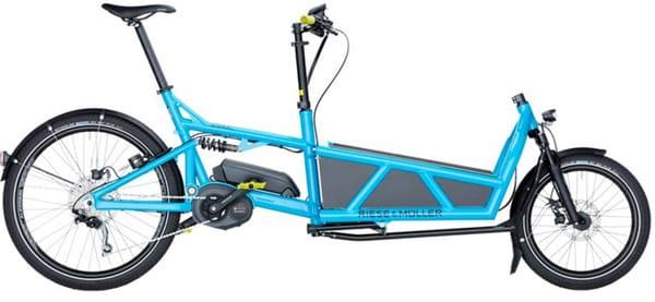 E-cargo bike Load, Riese & Muller con motore Bosch