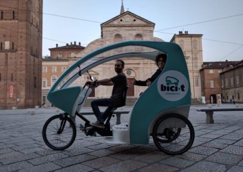 Triciclo, Bici-t a noleggio