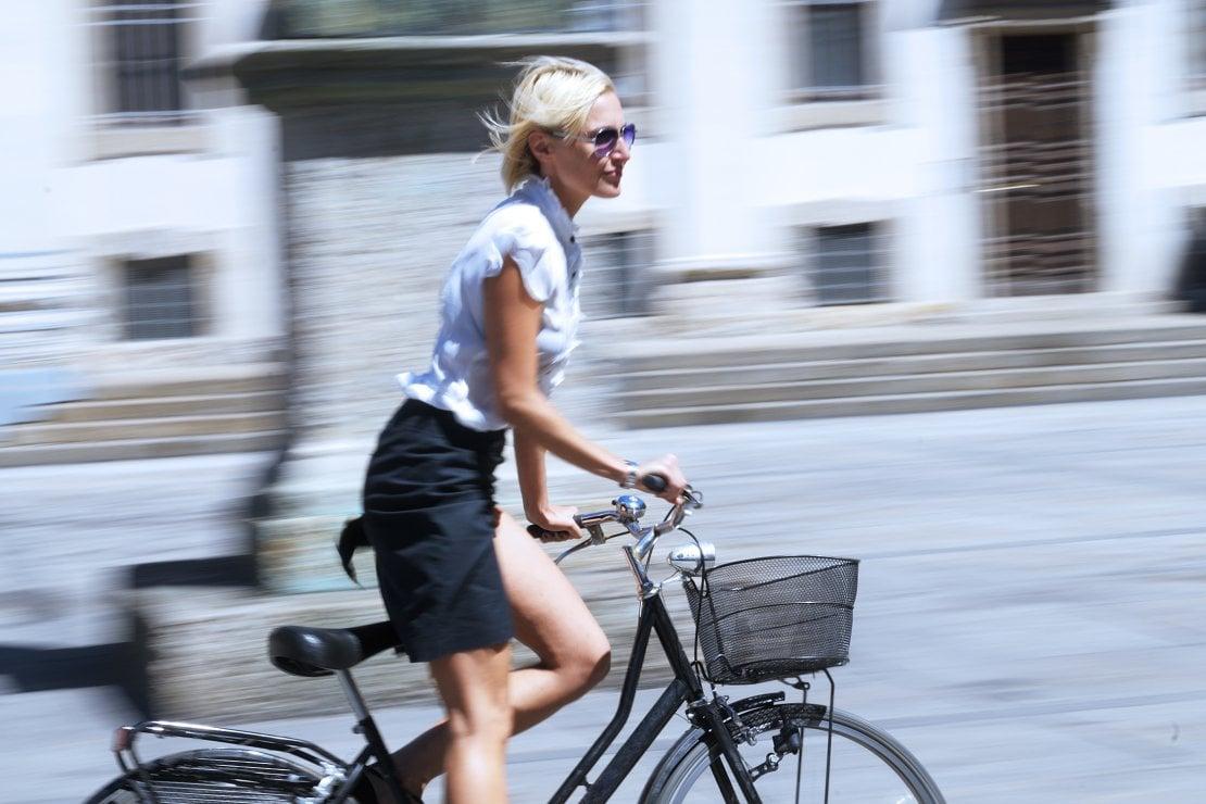 La fase 2 si inizia pedalando: tutti in bicicletta