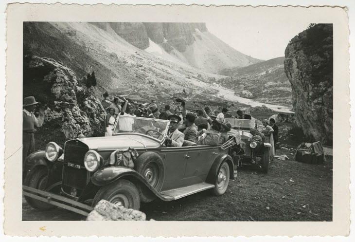 Campeggio del TCI in Trentino-Alto-Adige (1935)