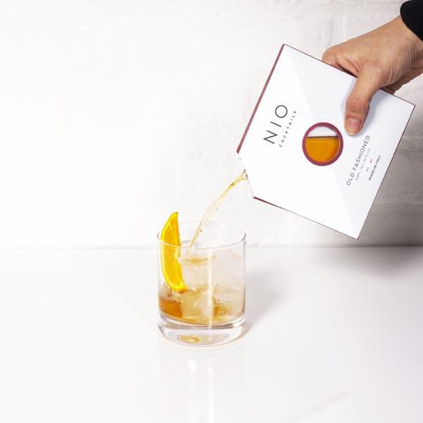 NIO Cocktails lancia il suo Old Fashioned,firmato dal mixologist Patrick Pistolesi