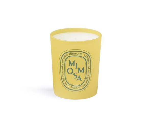 Candela essenza Mimosa, Diptyque