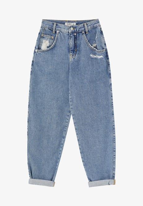 Pantaloni a vita alta, Pull & Bear in vendita su Zalando