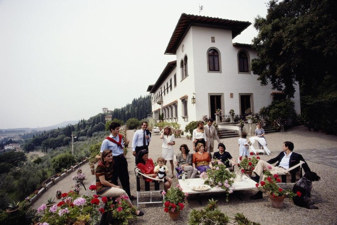 La famiglia Ferragamo nel 1991