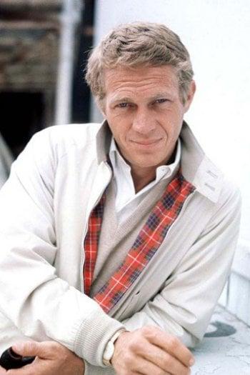 Steve McQueen con il giubbino Harrington
