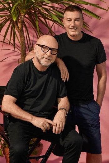 Un recente ritratto di Domenico Dolce e Stefano Gabbana