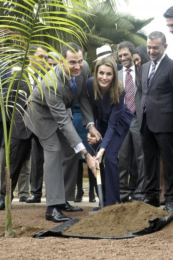 Letizia e Felipe di Spagna