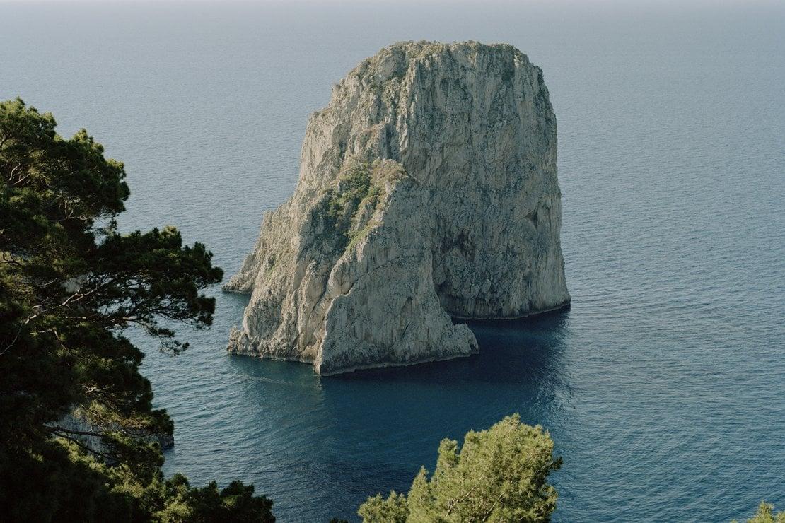 Un'immagine di Capri, l'ispirazione della collezione cruise 2021 di Chanel (ph. Bea De Giacomo)