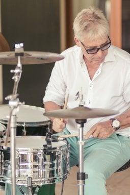 Diego Mazzi alla batteria
