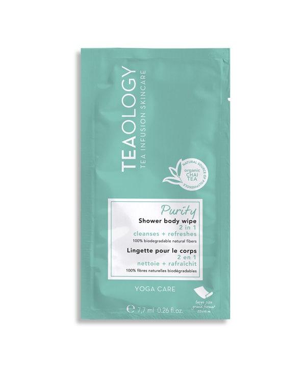 Clean beauty da usare durante il giorno per detergersi con ingredienti natuali, Teaology