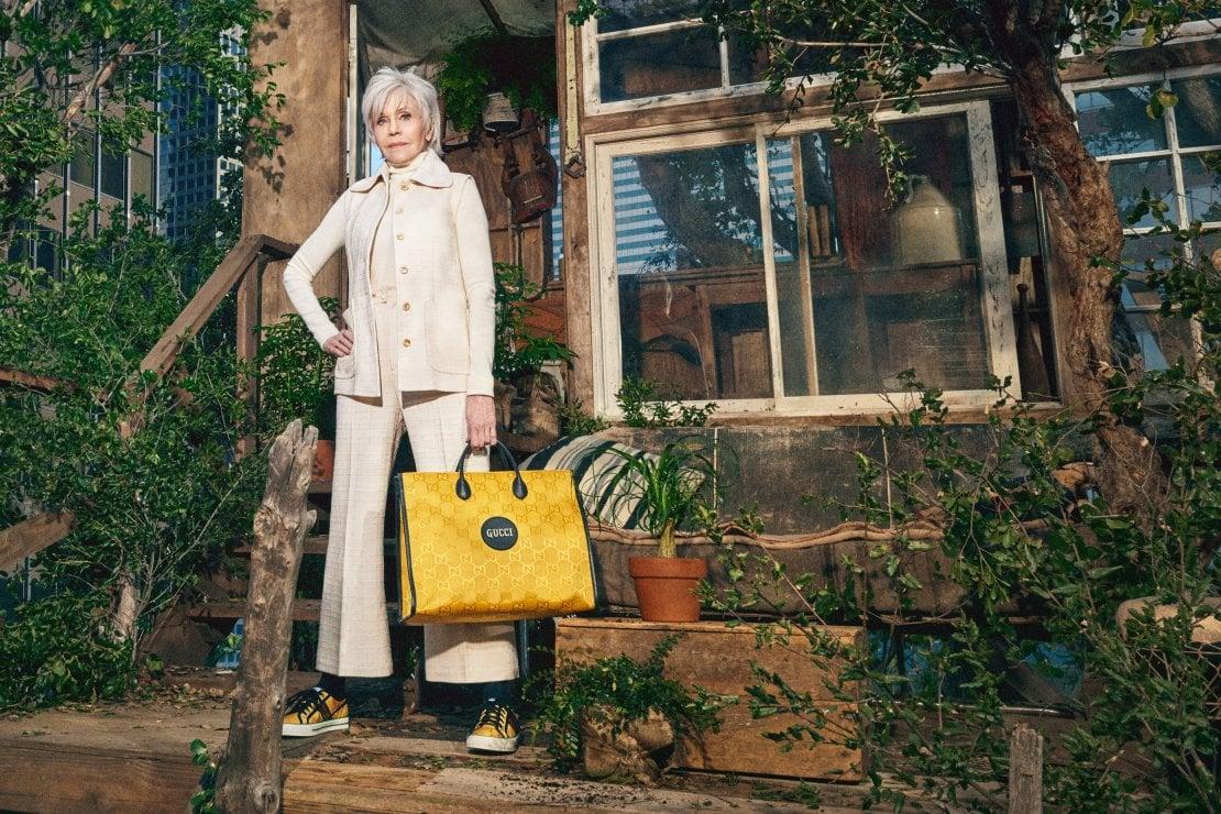 Jane Fonda Courtesy Image: Harmony Korine/Gucci