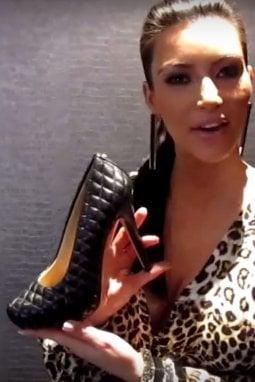Le scarpe disegnate da Kim Kardashian per Kate