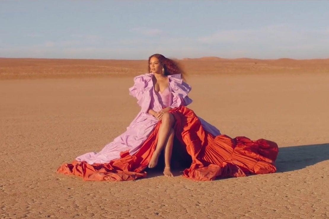 Beyoncé vestita Valentino nel video del brano