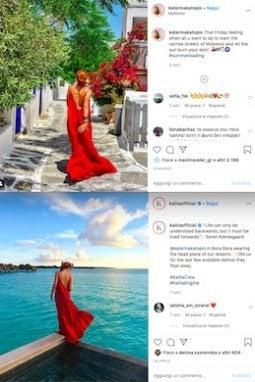 Uno dei marchi più coinvolti nel trend, almeno sui social media, è sicuramente Kalita, presente nelle immagini di parecchie influencer in vacanza...