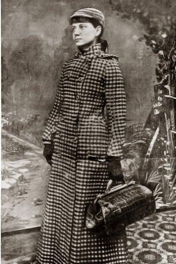 Storia di Nellie Bly, prima donna a fare il giro del mondo in solitaria