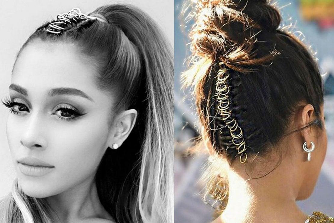 Piercing per capelli: il gioiello per le acconciature estive decolla su instagram
