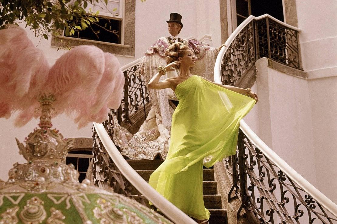 Un'immagine di un servizio di moda del 1965