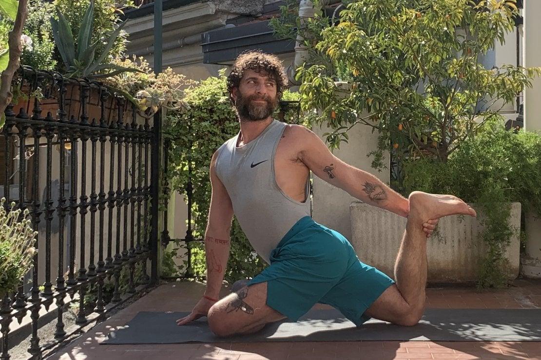 Diretta yoga su instagram: mercoledì 1 luglio appuntamento con Marco Migliavacca