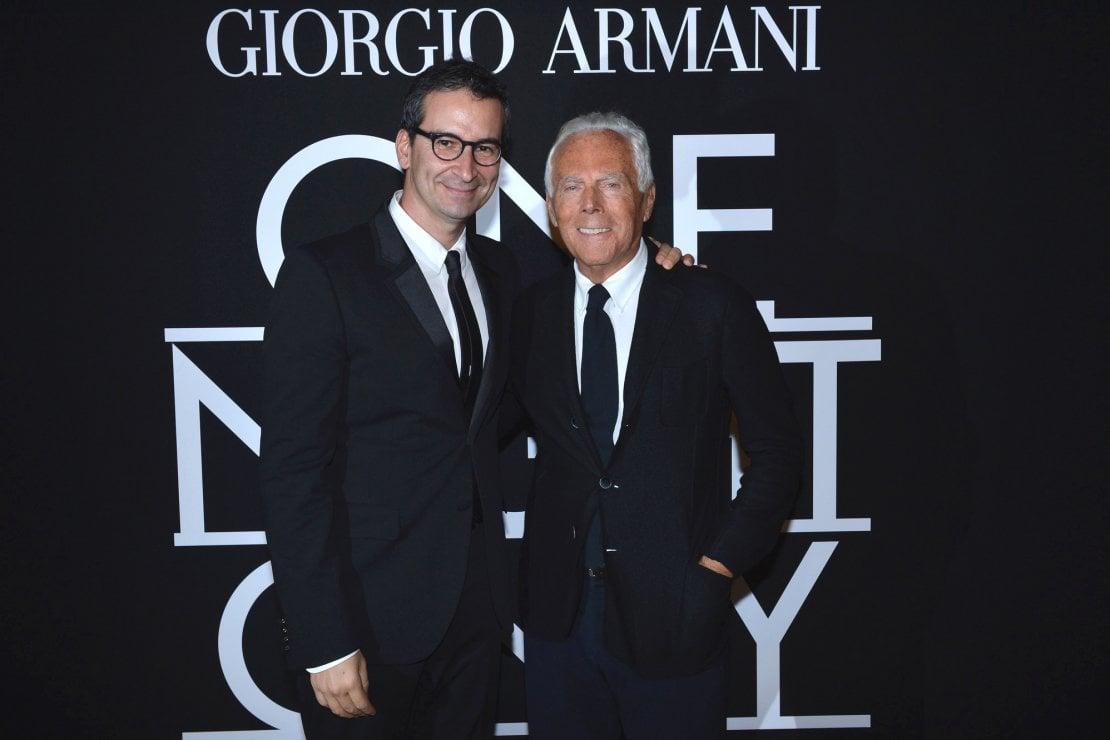 Federico Marchetti e Giorgio ArmaniCredit: SGP