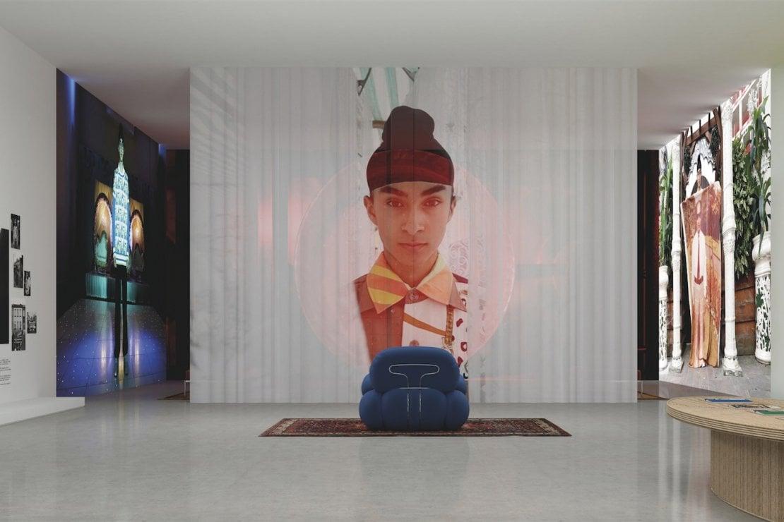 La mostra digitale di Ahluwalia, marchio tra i finalisti 2020 dell'Lvmh Prize