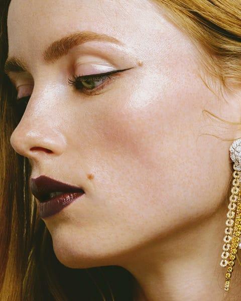 Chanel Haute Couture: Lucia Pica ha realizzato un look Romantic Punk sofisticato