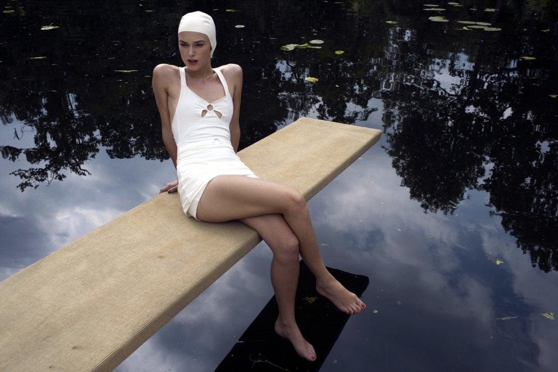 Una scena del film Espiazione, con Keira Knightley, distribuito in Italia da @universalpictures