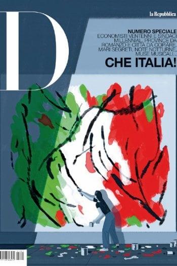 D: un numero speciale sull'Italia che sorprende