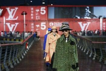 """Louis Vuitton, la collezione uomo """"trasloca"""" a Shanghai"""