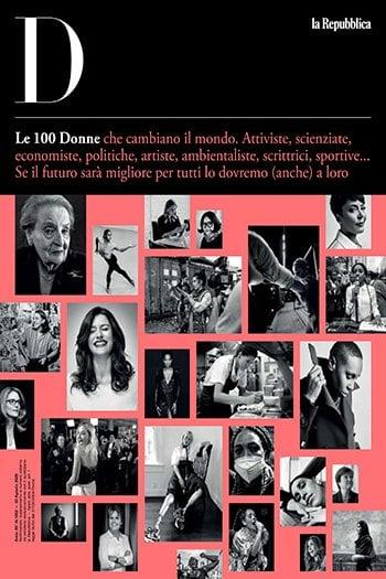 Il numero speciale di D sulle 100 donne che cambiano il mondo è qui: scaricalo gratis