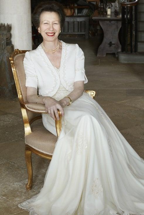 I 70 anni di Anna, principessa reale e unica figlia della regina Elisabetta I