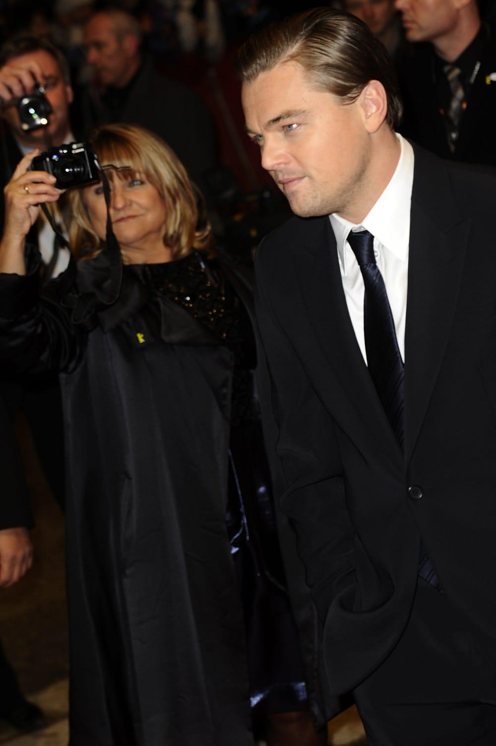 2010, Irmelin scatta una foto a Leonardo DiCaprio, protagonista di