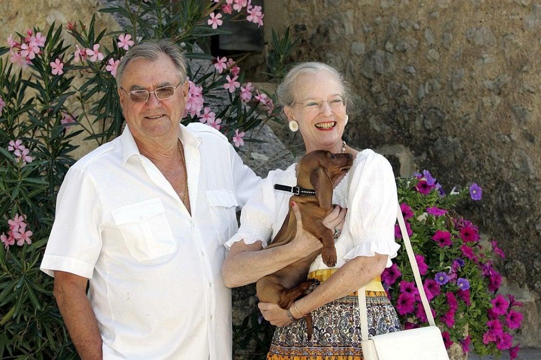 La regina Margherita e il principe Henrik