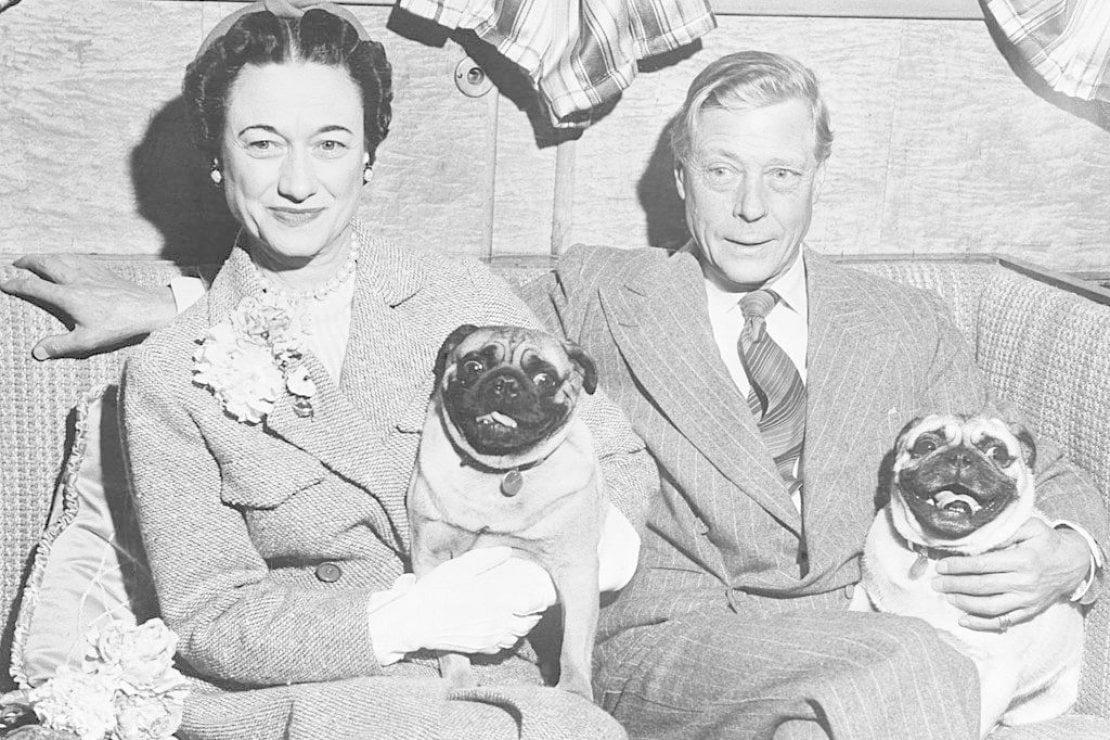 I duchi di Windsor, ovvero il re che ha abdicato Edoardo VII e sua moglie Wallis Simpson