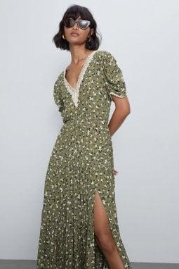 L'abito sul sito di Zara