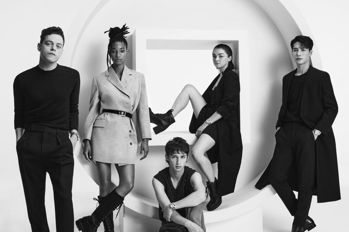 Rami Malek, Troye Sivan, Willow Smith, Maisie Williams e Jackson Wang