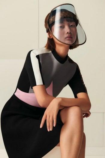 Covid: arriva la visiera protettiva firmata Louis Vuitton