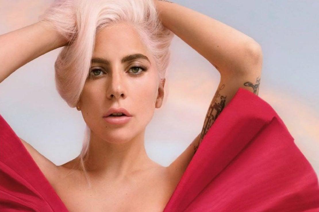 Lady Gaga nella campagna Voce Viva di Valentino beauty