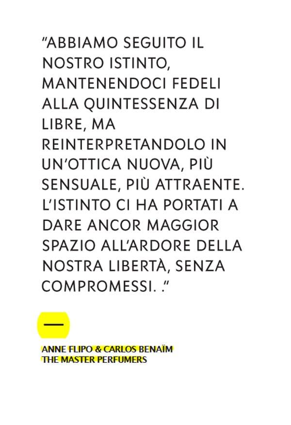 I nasi Anne Flipo e Carlos Benaim: ''Così abbiamo creato gli accordi del nuovo profumo Yves Saint Laurent, Libre Intense''