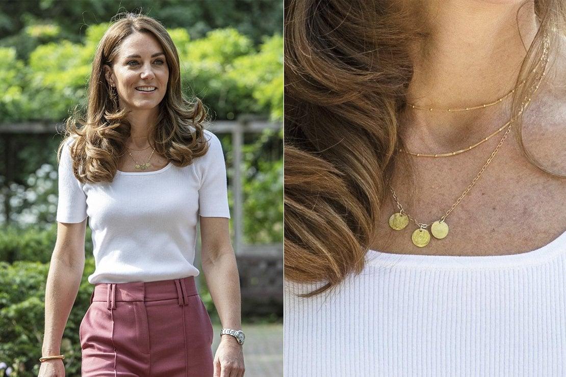 La collana di Kate Middleton con le iniziali dei figli: tenera ma soprattutto etica. Ecco perché