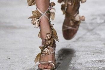 Le scarpe più belle viste in passerella
