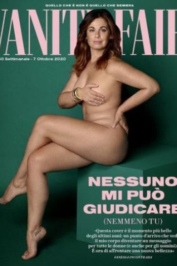 Vanessa Incontrada nuda sulla cover di Vanity Fair: Nessuno mi può giudicare