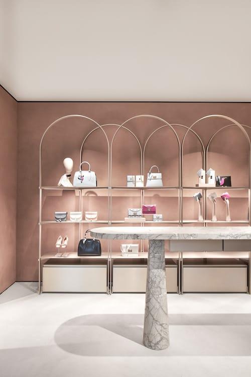 Il nuovo store di Furla a Milano disegnato da David Chipperfield