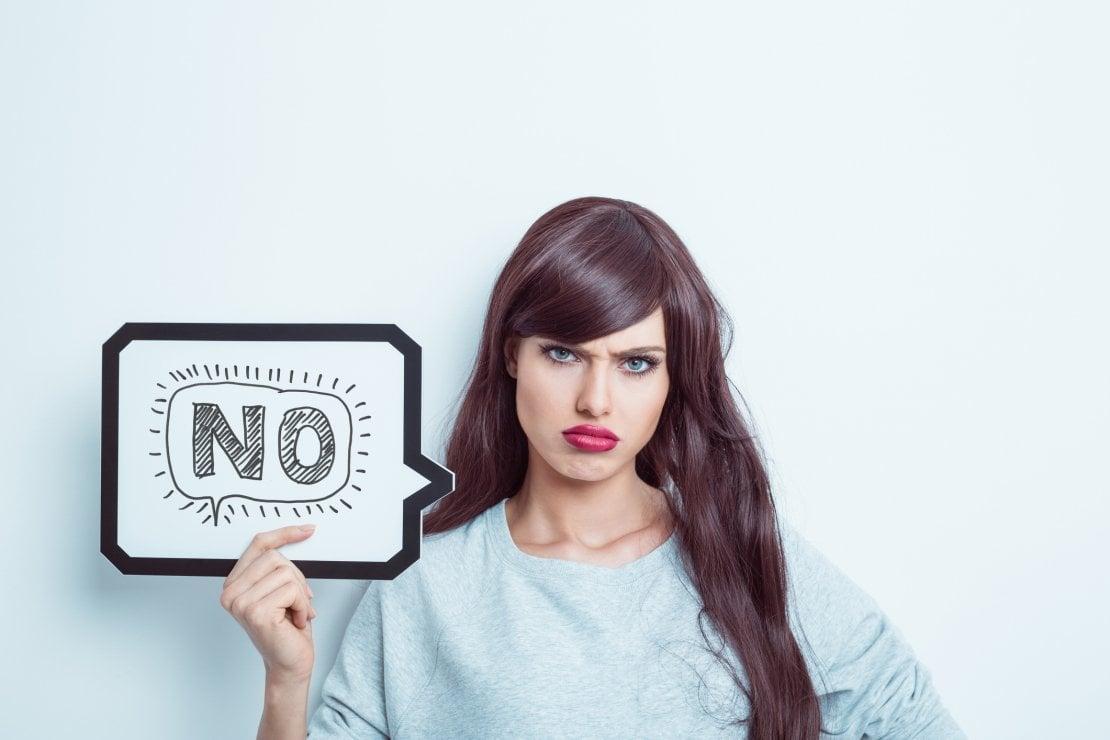 Impara a dire no