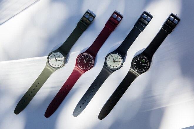 E' la prima volta che un produttore di orologi riesce a sostituire tutti i materiali convenzionali con materiali di origine biologica per una produzione in serie. Presentando il risultato in una collezione che riprende l'iconico design dei primi modelli Swatch, BIORELOADED