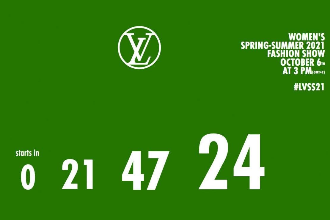 Louis Vuitton: la sfilata live!