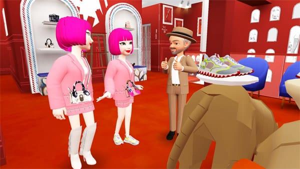 Crea il tuo avatar ed entra nel mondo virtuale di Louboutin